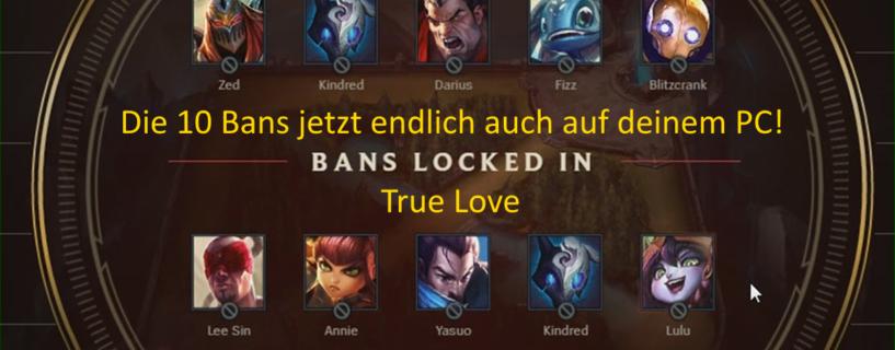 10 Bans